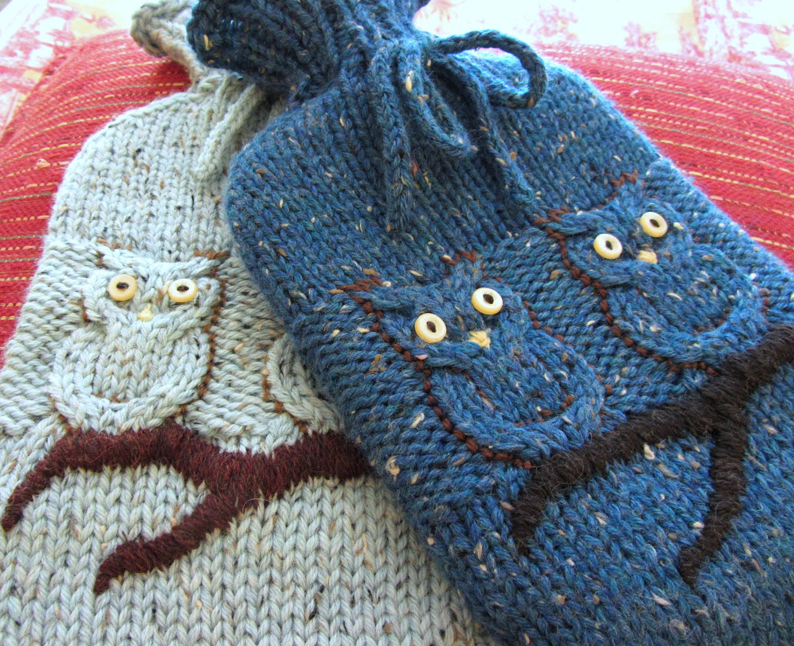 Knitting Pattern For A Hot Water Bottle Cover : Wedding Gifts - KnitPicks Staff Knitting Blog