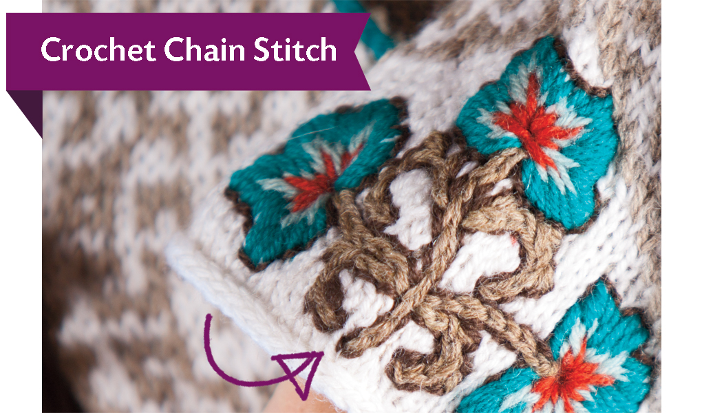 ... , watch Kerin?s video tutorial on the crochet chain to get started