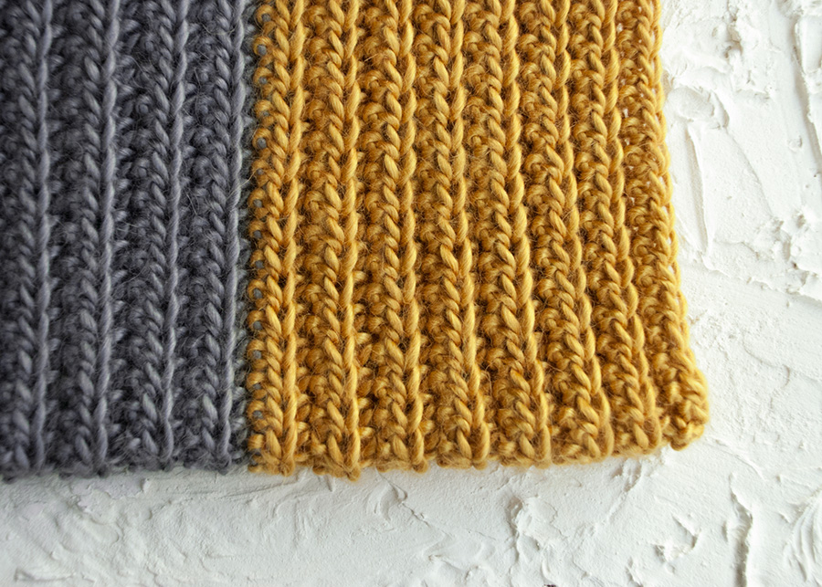 how to make a half double crochet scarf