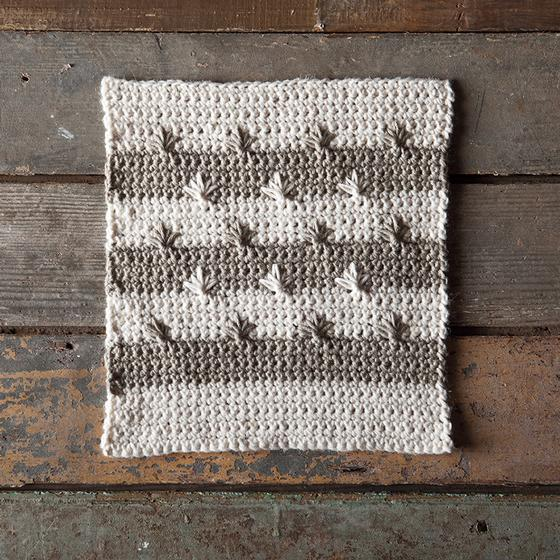 Free Crochet Star Dishcloth Pattern : etoile Crocheted Dishcloth - KnitPicks Staff Knitting Blog