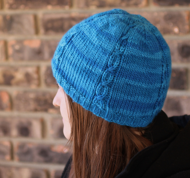 Give 'Em the Slip Hat by Triona Murphy from knitpicks.com