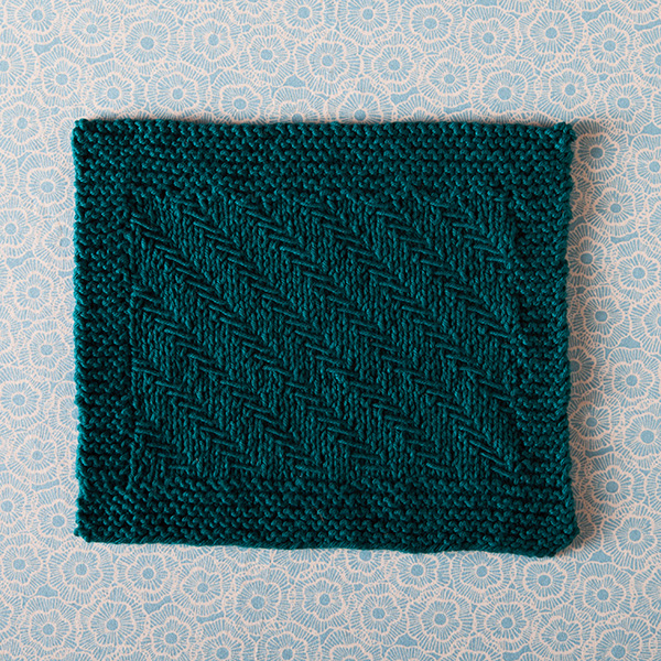 Fishbones Dishcloth