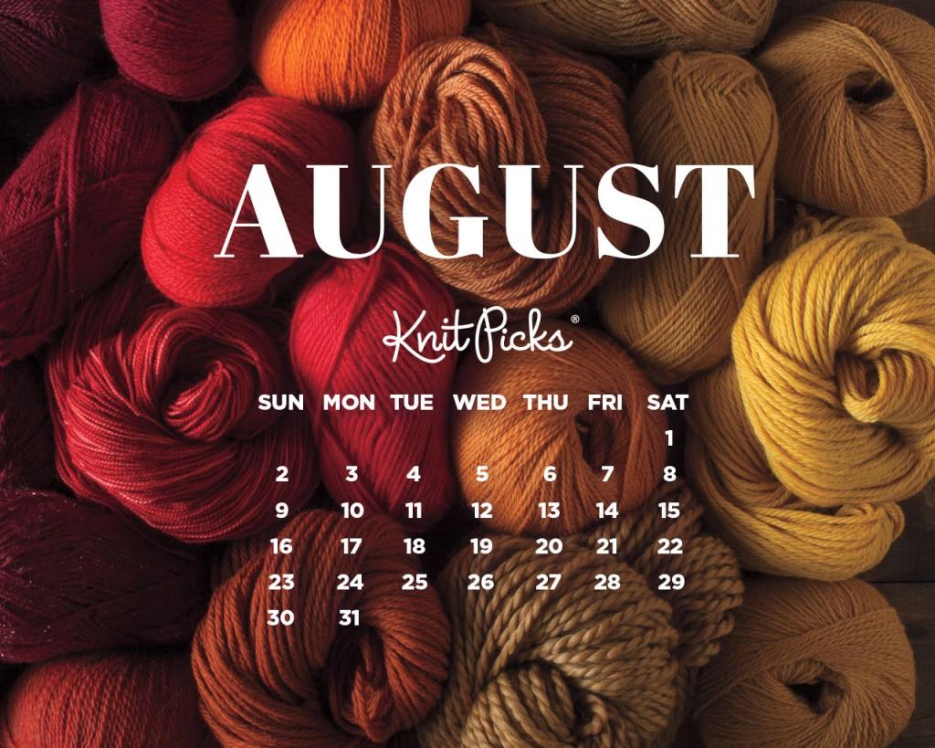 August 2015 wallpaper calendar