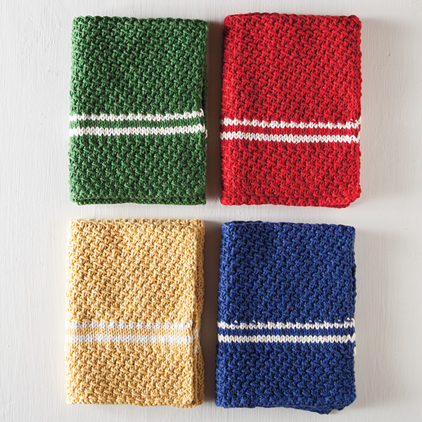 Free Dish Towel Set Pattern until December 19 from knitpicks.com