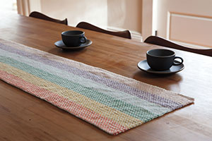 Designer Interview - Joyce Fassbender, Linen Dream Rug and Table Runner
