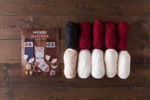 Santa Pillow Knitting Kit, Merry Knitmas, Knit Picks