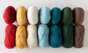 Knit Picks MIghty Mittens yarns - Palette and Wool of the Andes