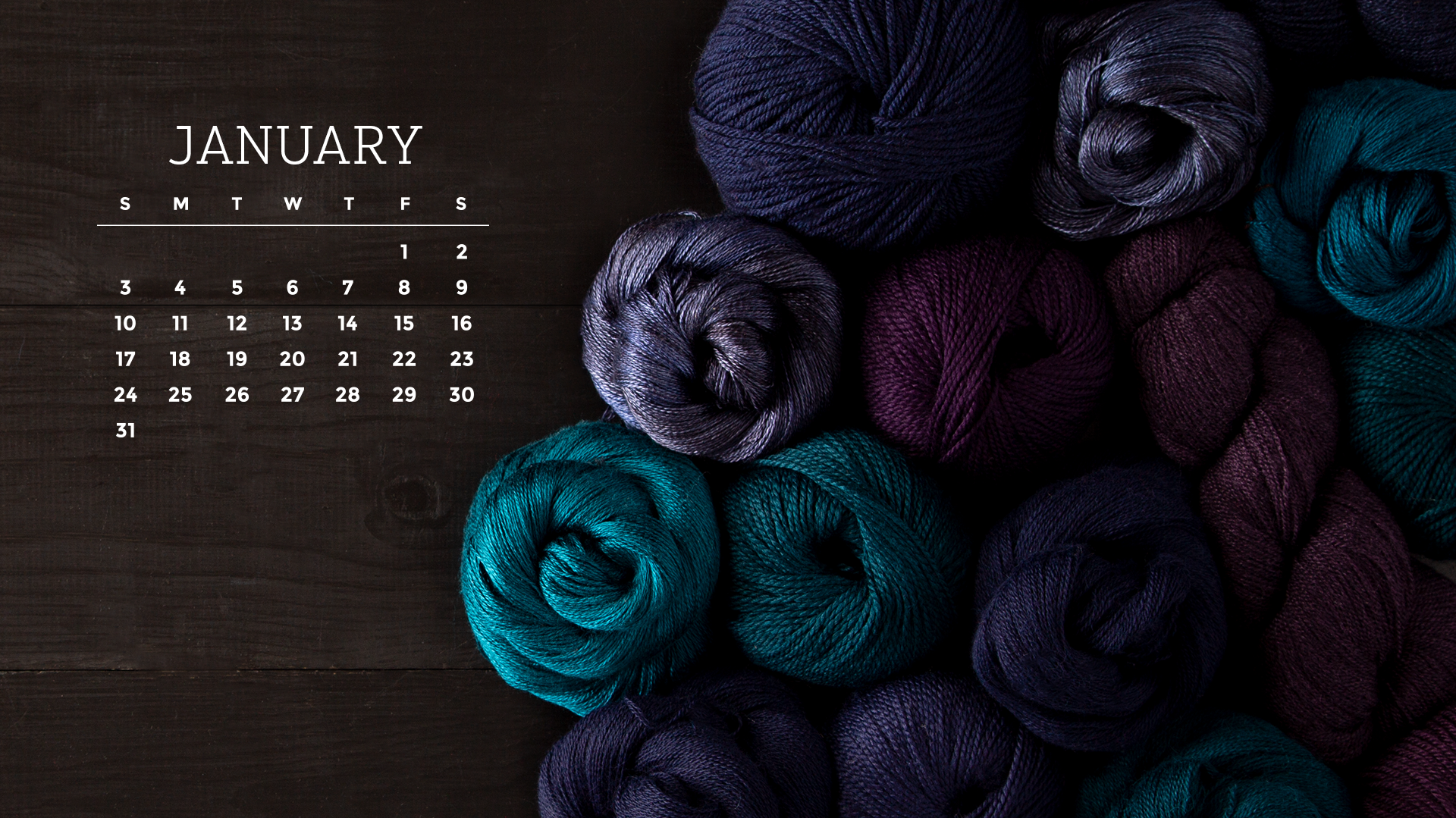 Free Downloadable January 2021 Calendar   KnitPicks Staff Knitting