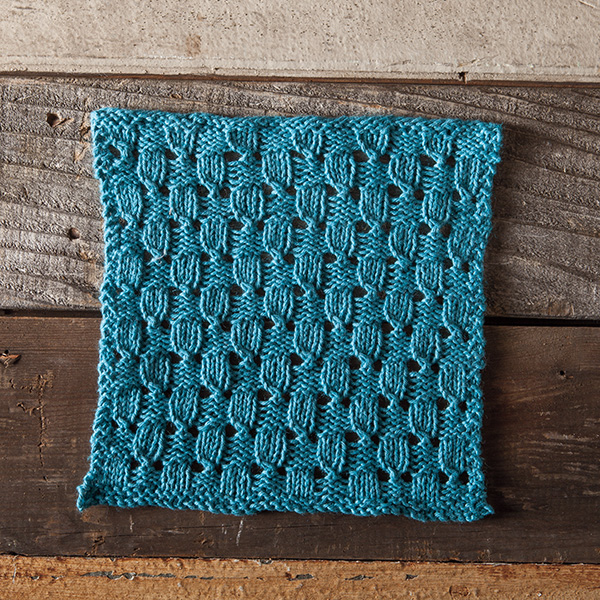 Free Dishcloth Pattern Checks And Eyelets Facecloth Knitpicks