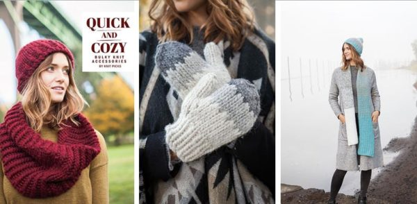 Knit Picks Winter 2017 Catalog: Quick & Cozy pattern collection. www.knitpicks.com