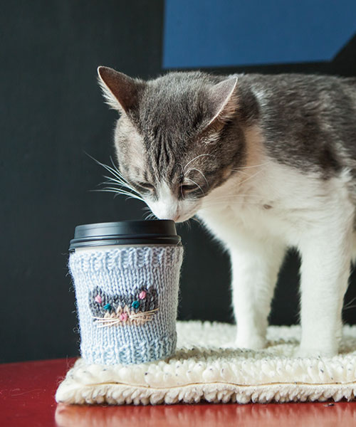 Catpuccino Cup Cozies
