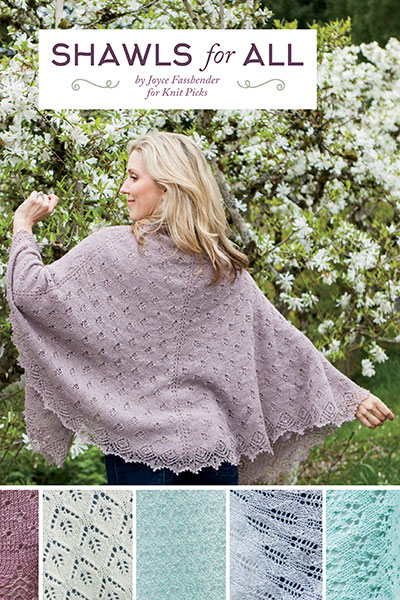 Knit Picks Podcast 258: Beginning Lace - Shawls for All pattern collection