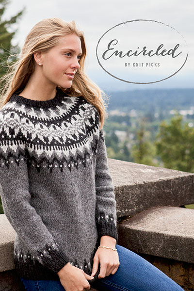 New Encircled pattern collection at knitpicks.com