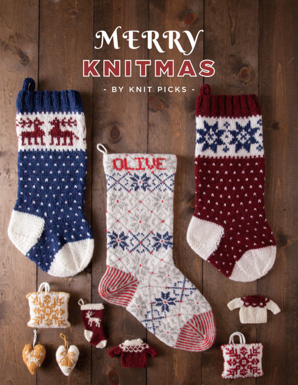 Merry Knitmas - holiday patterns from Knit Picks