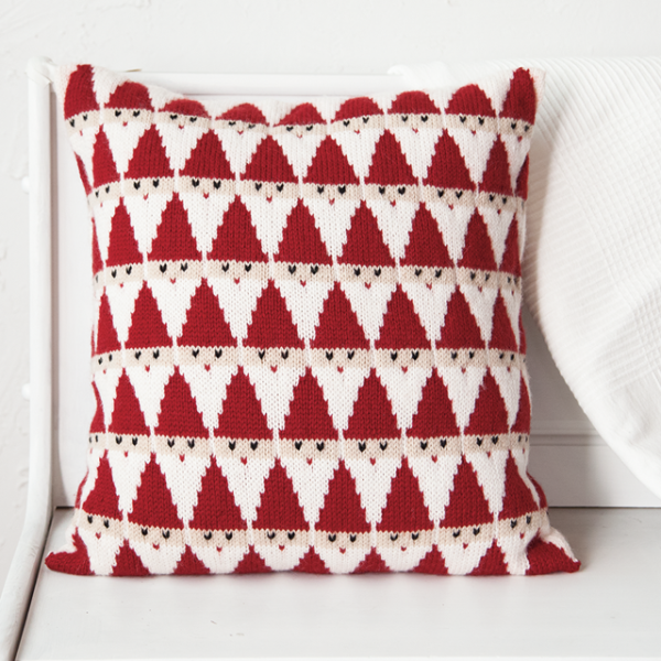 Santa Pillow from Knit Picks