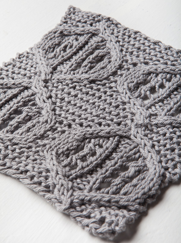 Free Quake Dishcloth Pattern from Knit Picks