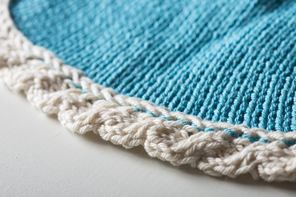 Free Wave Dishcloth Pattern from Knit Picks