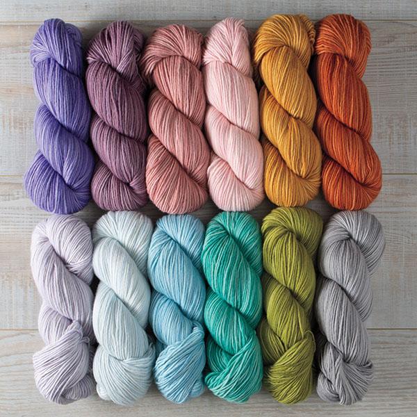 New Preciosa colors from Knitpicks.